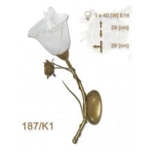 Wandlampe Rosa 187-K1