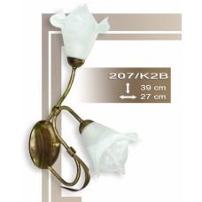 Wandlampe Strauß 207-K2B